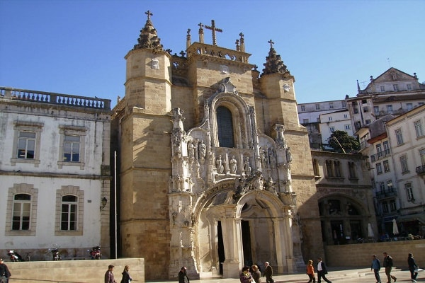 The monastery of Santa Cruz